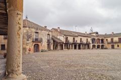 Plaza mayor de Pedraza. Conjunto histórico. Segovia. Castilla León. España