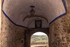 Puerta de entrada y salida de Pedraza. Conjunto histórico. Segovia. Castilla León. España