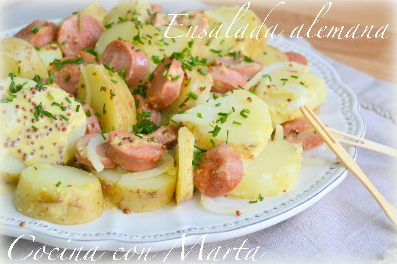 Ensalada alemana 2 hogar cocina facil - Comidas rapidas y baratas ...
